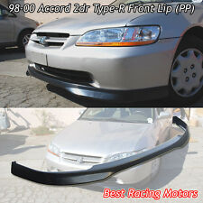 TR Style Front Lip (PP) Fits 98-00 Honda Accord 2dr