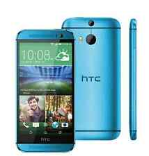 "5"" New HTC One M8 32GB Unlocked 4G LTE Quad-core 4MP Android Smartphone Blue"