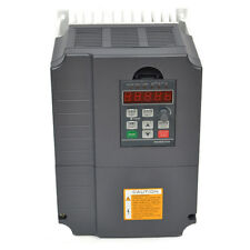 UPDATED 7.5KW 220V 10HP 34A VFD VARIABLE FREQUENCY DRIVE INVERTER CE