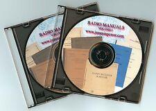 PDF 60 HAM MILITARY RADIO MANUALS R-390 SP-600 BC-348 EK-07 R-1051  DVD-ROM