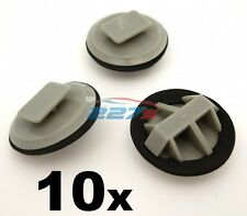 10x Plastic Trim Clips for Mazda Sill Moulding / Rocker Cover Trim Clips