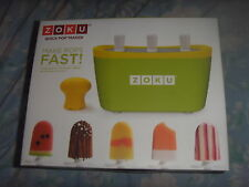Brand New In Box Zoku Quick Pop ice cream maker