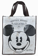 DISNEY MICKEY MOUSE VINTAGE CLASSIC 1928 SHOPPING TOTE GIFT BAG PARTY FAVORS NEW