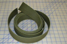 "10ft long 2"" wide military OD green cotton strap webbing belt replacement repair"