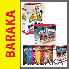 Mighty Morphin Power Rangers Complete Season Series 1 - 7 DVD Box Set