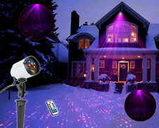 SUNY Outdoor Full Coverage Projector Red Blue Laser Xmas Light Yard JF07-100RBRB