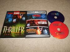 Thriller 3 Pack Pyscho ii 2 Psycho III 3 Psycho IV 4