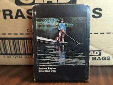 JAMES TAYLOR ONE MAN DOG RARE 8 TRACK TAPE TESTED LATE NITE BARGAIN!