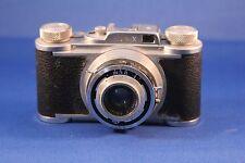 Vintage Wirgin Edinex with Leather Case (Schneider-Kreuznach Xenon 1:2/50 Lens)