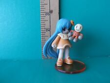 """Netrun-Mon Mixi-Tan cutie with orange dress and monkey doll in hand 2.5""""in"""
