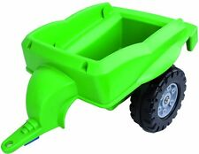 Big Tractor Trailer for Kids tractor tractor Pedal car Color green 800056668