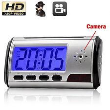 Mini Camera Digital USB Alarm Clock Video DVR Hidden SPY Nanny Camera DV KY
