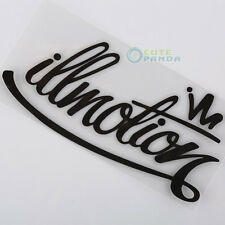 Funny car illmotion ill sticker decal JDM vinyl euro drift racing illest fatlace
