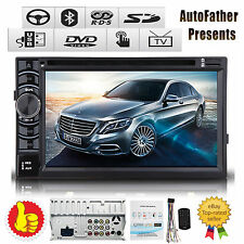"HD 2DIN 6.2"" Car Stereo DVD Player Radio Bluetooth TOUCHSCREEN For Mercedes-Benz"