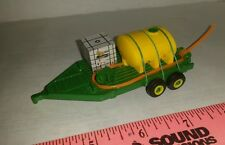 1/64 ERTL custom farm toy sprayer tender water trailer tank pump reel roundup gy