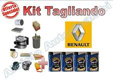 KIT TAGLIANDO RENAULT SCENIC III 1.5 DCI 04/09 --  OLIO ELF 5W30 MSX + FILTRI