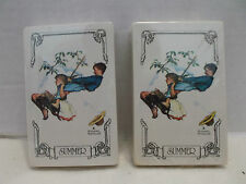 Trump Norman Rockwell Summer Two Decks Playing Cards Made In The U.S.A. NIB!