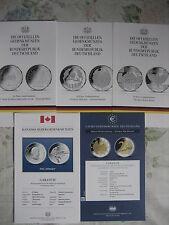Cada uno un original mdm Flyer para 10 y 20 euros a partir de monedas conmemorativas 2004