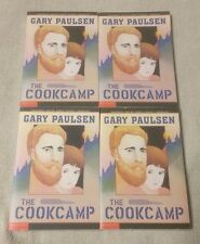 Lot 4 THE COOKCAMP Chapter Books GARY PAULSEN Scholastic Guided Reading Teacher