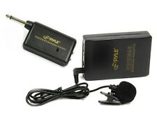 NEW Pyle PDWM96 Lavalier Clip-on Wireless Microphone System (Batteries Included)