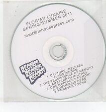(ET433) Florian Lunaire, Spring/Summer 2011, 7 tracks - DJ CD