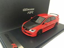 1/43 Mark CIVIC MUGEN RR 2008 FD2 TYPE-R Red with Carbon Hood