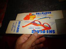 Ancienne Boite VIDE de Lunettes Solaires SKI-PLAGE / +- années 60 Vintage