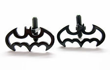 New Edition Stainless Steel Batman Cufflinks Cuff links Free Same Day Shipping