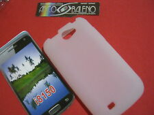 Custodia Cover Per SAMSUNG GALAXY WONDER GT I8150 Silicone Gel BIANCO