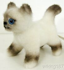 KOSEN Made In Germany NEW Standing Birma Kitten Baby Cat PLUSH TOY