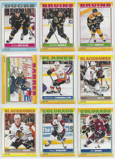 12-13 OPC Complete Your Sticker Insert Set - 2 Cards for $1.00