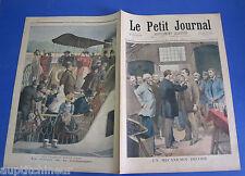 Le petit journal 1894 179 un mécanicien décoré  retour à la campagne beaux jours