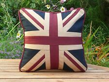 Red, White and Blue' Vintage Union Jack Mini Cushion. Patriotic and stylish