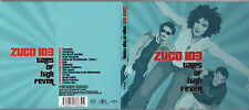 CD DIGIPACK 14T ZUCO 103 TALES OF HIGH FEVER DE 2002 FRANCE