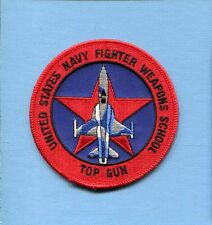 TOP GUN US NAVY FIGHTER WEAPONS SCHOOL NORTHROP F-5 TIGER Squadron Jacket Patch