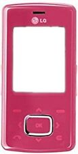 LG KG800 Housing Case Slider Cellphone Pink Shiny Plastic Replacement OEM