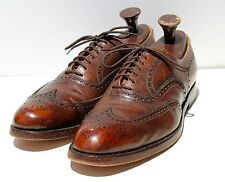 Allen Edmonds 13D Vintage Gent's 'MacGregor' Brown Scotch Grain Wingtips - USA