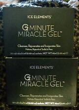 Ice Elements 2 BOXES 2 Minutes Miracle Gel exfolianting scrub packs Sachets = 60