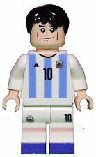 Custom Lego LIONEL MESSI Minifig Argentina Soccer Futbol Copa America World Cup