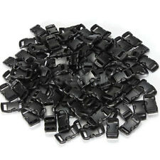 100×10mm Plastic Side Quick Release Buckle Clip Strap Backpack Bag Paracord Cord