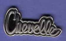 CHEVY CHEVELLE SCRIPT HAT PIN LAPEL TIE TAC BADGE #0870