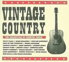 Various Artists Vintage Country: The Golden Age of Country Music CD