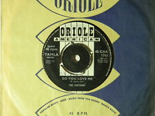 The Contours (import 45) DO YOU LOVE ME / MOVE MR. MAN ~ VG to VG+ UK