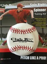 Baseball SPIN RIGHT SPINNER Pitching Pitcher Trainer Training Aid ~ MADE in USA