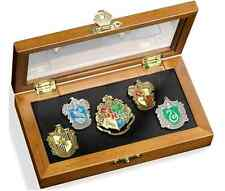 Harry Potter House Crest 5 Pin Set, New Wizarding World Hogwarts Badge Collector