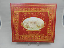 2007 WHITE HOUSE HISTORICAL SOCIETY CHRISTMAS ORNAMENT TO HONOR GROVER CLEVELAND