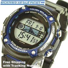 CASIO SPORTS GEAR W-S210H-1AJF Solar Tide Moon Men's Watch Japan Free Shipping