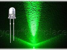 20 x 5mm LED aproximadamente-verde 30 ° 13000mcd ultrahell cabeza redonda super brillante Green