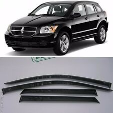 For Dodge Caliber 5d 2007-2012 Window Visors Side Sun Rain Guard Vent Deflectors