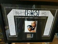 KARATE KID SIGNED HEADBAND FRAMED ***RARE***